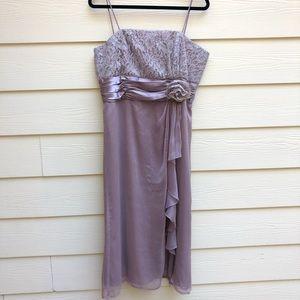 David's Bridal Chiffon Dress